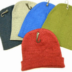 Children's Size Knit Winter Beanie Caps Mixed  Colors .60 ea