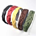 Trendy Padded Braid Style  Fashion Headbands Fall Colors   .56 each