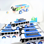 "2"" X 6"" Light & Sound Friction Police Wagon 8 pcs per display $ 2.25 ea"