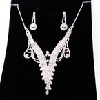 LIMITED SPECIAL Elegant Clear Rhinestone Necklace Set (09) sold by set $ 3.50 ea set