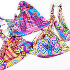3 in 1 Headbands/MASK/Mask Cover w/  Elastic Back African  Prints .56  each