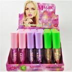 Glossy Finish Lip Gloss 24 per display bx .60 each