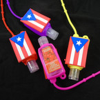 Fruit Scent  Pocket Size Hand Sanitizer Puerto Flag  12 per pk .56  ea