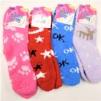 Thick ,Soft & Comfy COZY Socks Mix Color & Mixed Prints   .70 per pair