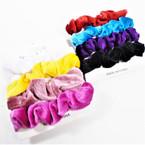 4 PK Velvet Scrungi Asst Colors .50 per set