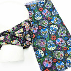 Carded Multifunctional Scarf/Headwear/ Mask Sugar Skull Theme   .58  ea