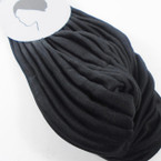 All Black Pleated  Turbins 12 per pk  (18B)  $ .99 ea