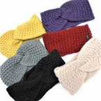 "Upgraded Quality  4"" Wide Stretch Knit Winter Headbands (1119) 6 colors  $ 1.50 ea"