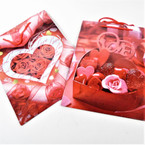 Med. Size  Love Theme Gift Bags  4 styles per dz mixed .37 each