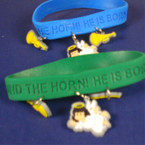 Sound the Horn Bracelet w/ Charms 12 per pack