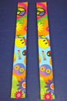 "9.5"" Peace & Emoji Face Slap Bands .25 ea"