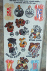 "12"" X 24"" D.O.G. Window Clings sell by sheet  ON SALE .25 each"