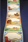 VBS Western Name Tags 100 per roll SOLD BY ROLL  .50 per roll