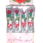 All Red Flower Perfume Rose 12 pc Display  1.00 ea