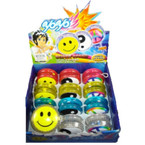 Smile/Peace Funny YoYo 1-dz display bx  .56 ea