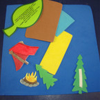 Camp Foam Craft Kit 12 sets per bag