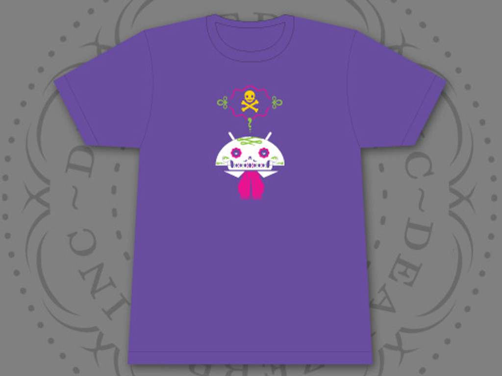 Limited Edition Calaveroid Android T-Shirt