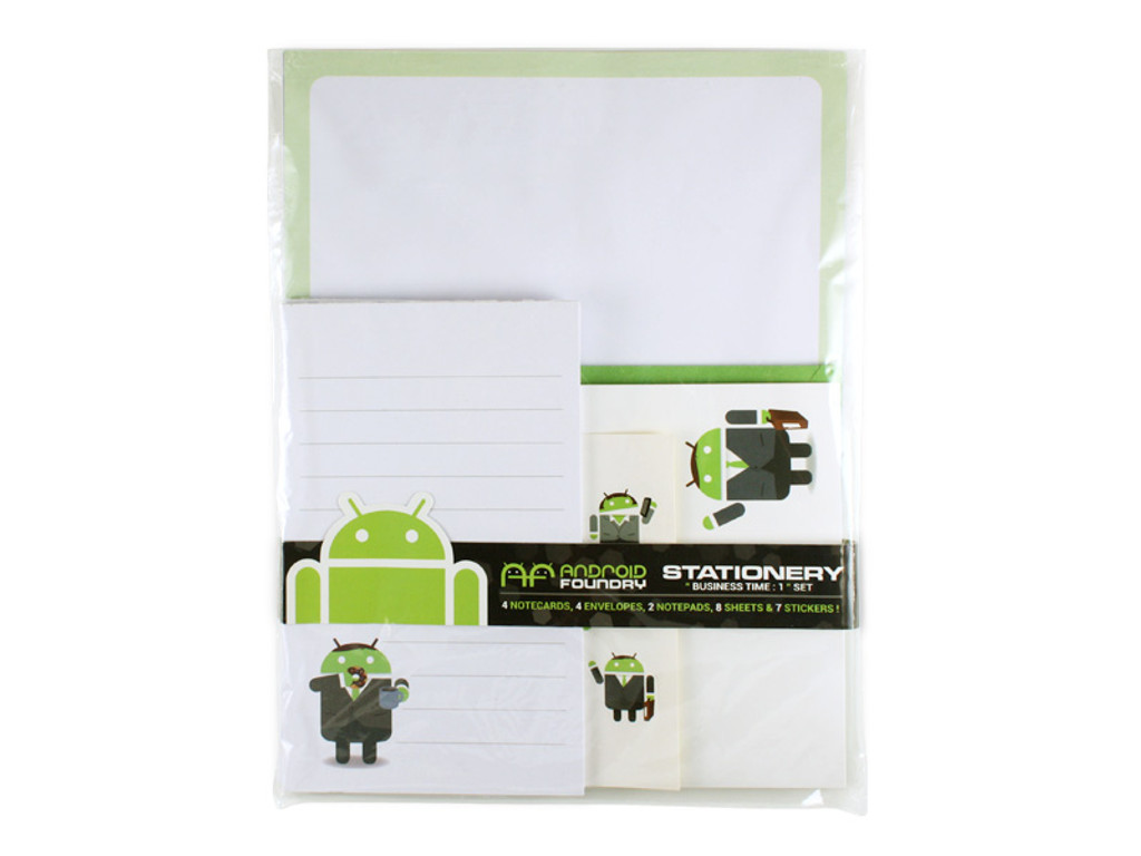 Business Time Android Stationary Set