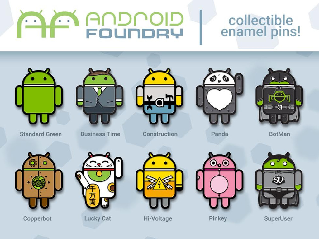 Developer Android Pin