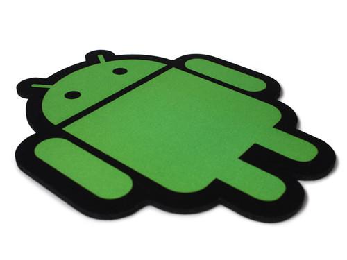 Green on black cloth top pad