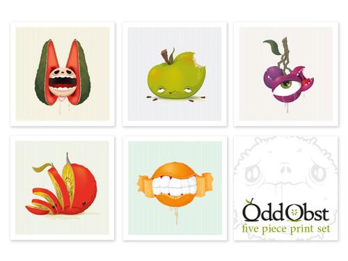 Odd Obst Print Set