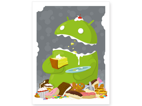 Android Eater Print