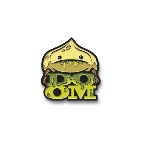 Dumpling of Doom Enamel Pin