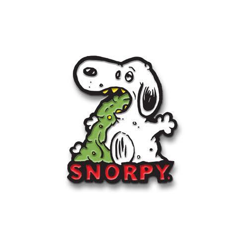 Snorpy Enamel Pin