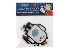 ANDROID FOUNDRY STICKER 10 PACK B