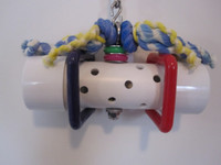 HORIZONTAL BELL TOY (Medium To Large Birds)