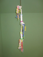 ROPE TOY WITH PVC SLIDERS