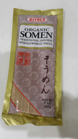 Organic Somen Japanese Wholewheat Pasta