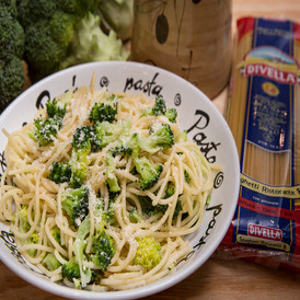 Spaghetti with broccoli