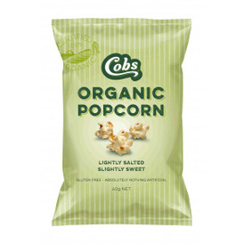 Cobs Organic Popcorn Lightly Salted Slightly Sweet