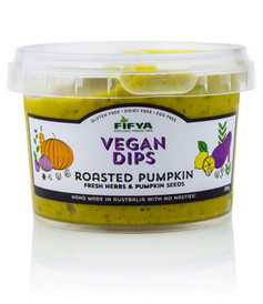 Fifya Vegan Dips Roasted Pumpkin