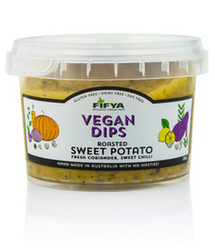 Fifya Vegan Dips Roasted Sweet Potato
