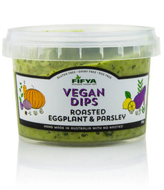 Fifya Vegan Dips Roasted Eggplant & Parsley