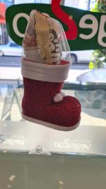 Vegan Christmas Santa Boots-small size