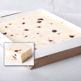 Baked Cherry Cheese Cake Slab