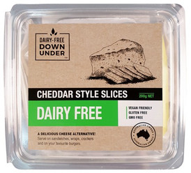 Cheddar style block Dairy Free