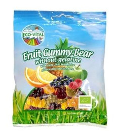 Fruit gummy bear