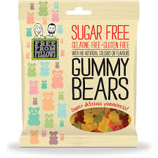 Sugar free Gummy brears