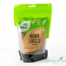Lotus organic Linseed (Flax Seed) Brown