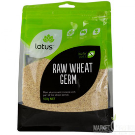 Lotus raw wheat germ