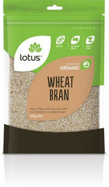 Lotus organic wheat bran