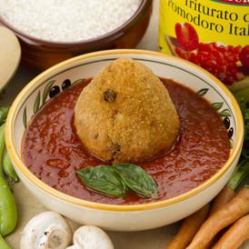 Vegan Arancini with Napoli Sauce