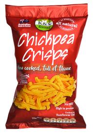 Gluten free chickpea crisps