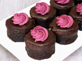 Choc Raspberry Mud Cake
