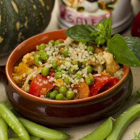 Vegetable Casserole with Organic Quinoa