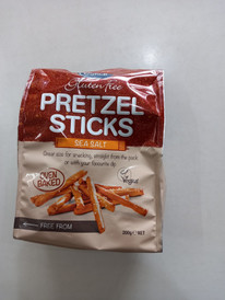 Eskal gluten free pretzel sticker (sea salt)